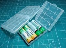 pojemniki na baterię AA cena 0,27$ ~ 1,26zł