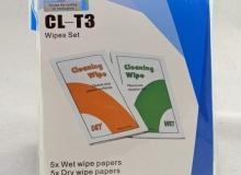 ściereczki bezpyłowe mokra i sucha do czyszczenia optyki 5 x 5 kompletów – 4,30$ ~ 16,34zł
