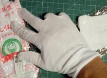 rękawiczki bawełniane do czyszczenia optyki, matrycy aparatu 0,74$ ~ 2,83zł