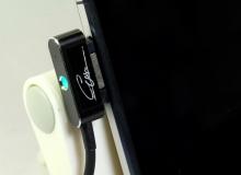 kabel do ładowania przez port magnetyczny do smartofnu SONY Z2 z dioda LED – 1,75$ ~ 6,65zł