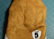 zimowa kurteczka dla Yorka Buby, wykonana z mielonej skóry, oraz z wełnianą podszewką 5,82$ ~ 22,20zł