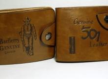 dwa portfele z ekologicznej skóry, koszt za sztukę 1,78$ ~ 6,78zł