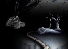 """okładka – strona I autorskiego tomiku poezji """"Poza krawędzią"""""""