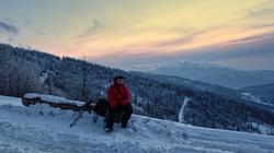 galeria / Beskid Mały – zachód słońca na zboczach Sokołówki - 20.02.2016