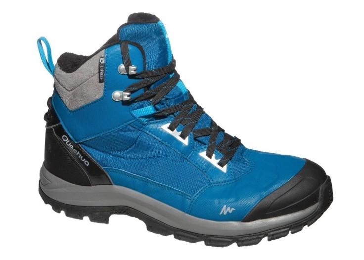 ab5de8e3 Potencjalni następcy modelu Inuit, buty czerpiące z nich bardzo wiele,  marki Quchua model SH520 X-WARM MID dostępny jest w dwóch wariantach  kolorystycznych, ...