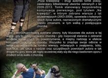 """okładka – strona II autorskiego tomiku poezji """"Poza krawędzią"""""""